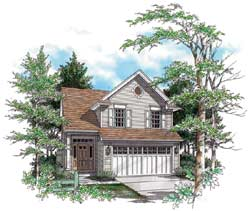 Traditional Style House Plans Plan: 74-278