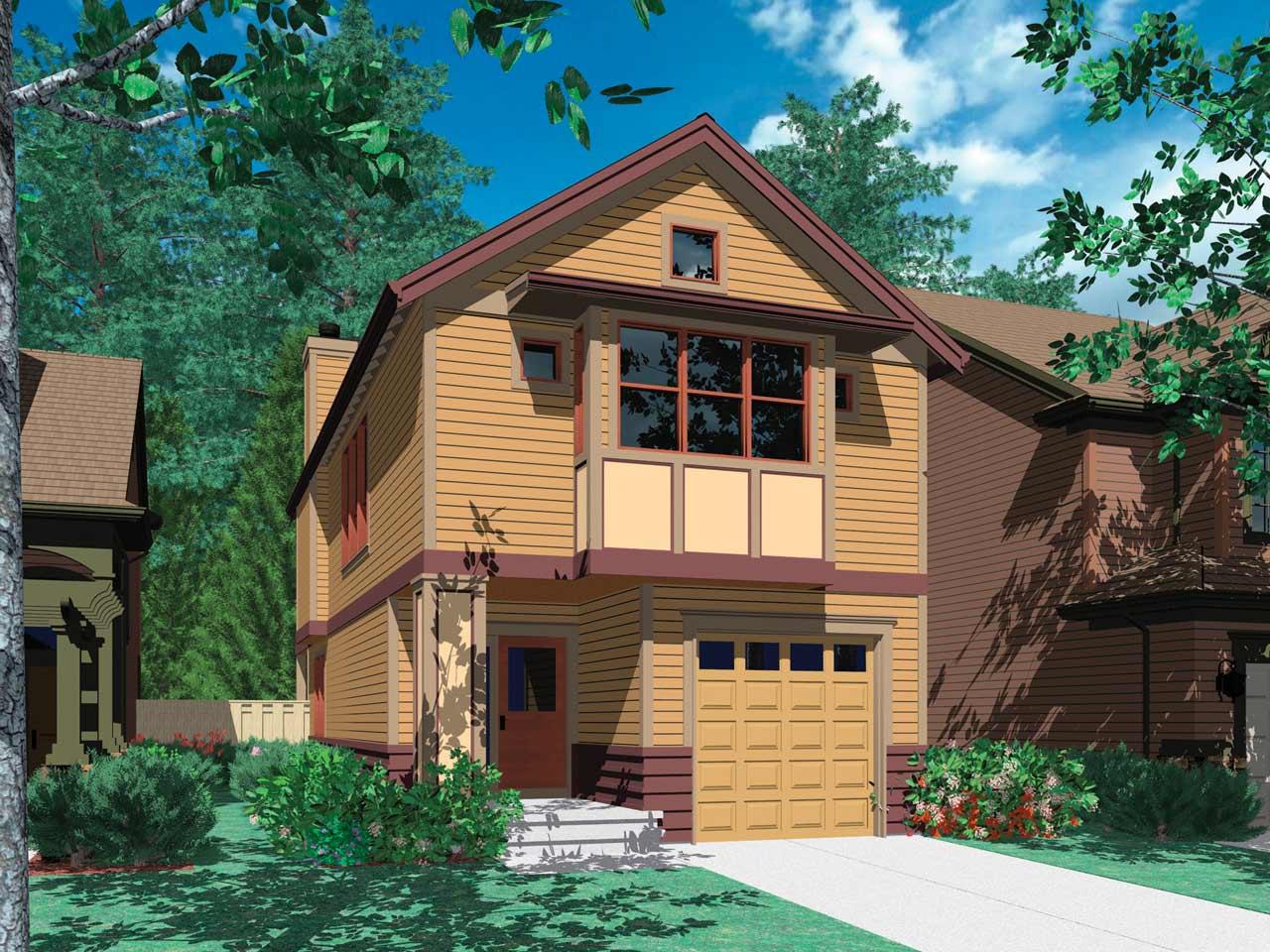 Craftsman Style Floor Plans Plan: 74-282