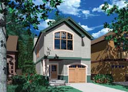 Craftsman Style Floor Plans Plan: 74-283