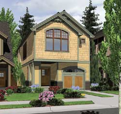 Craftsman Style Floor Plans Plan: 74-284