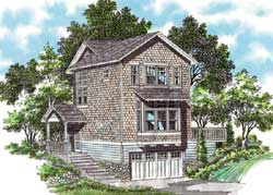 Shingle Style Floor Plans Plan: 74-285