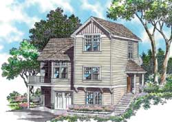 Craftsman Style House Plans Plan: 74-287