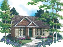 Craftsman Style House Plans Plan: 74-288