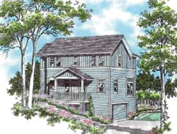 Cottage Style House Plans Plan: 74-289
