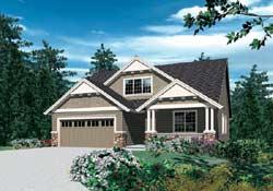 Craftsman Style Floor Plans Plan: 74-290