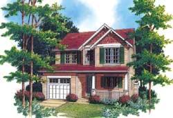 Craftsman Style House Plans Plan: 74-294