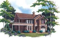Shingle Style Floor Plans Plan: 74-295