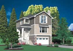 Craftsman Style Floor Plans Plan: 74-297