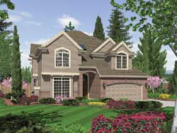 Traditional Style House Plans Plan: 74-317