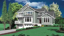 Craftsman Style House Plans Plan: 74-345