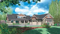 Craftsman Style House Plans Plan: 74-392