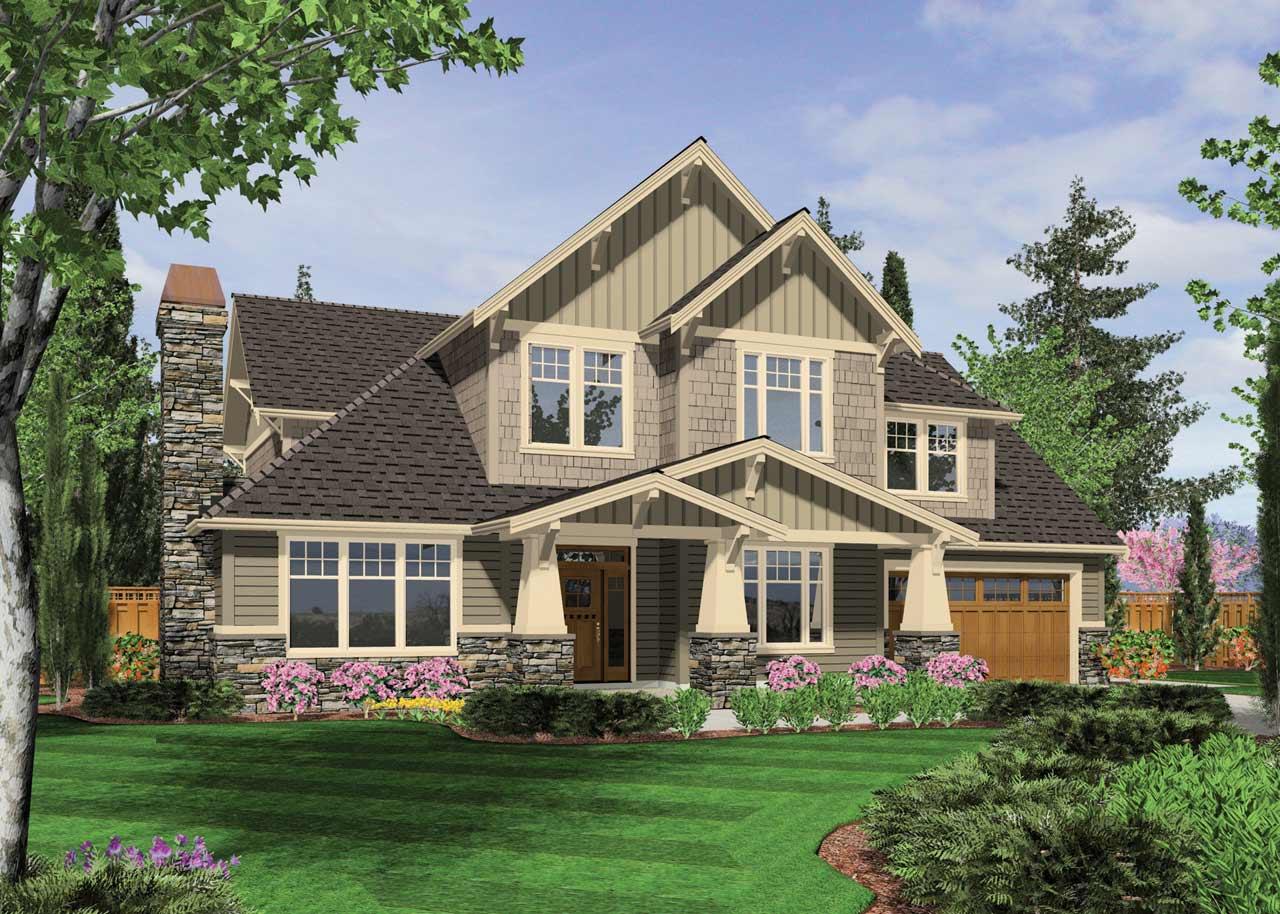 Craftsman Style House Plans Plan: 74-394