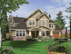 Craftsman Style House Plans Plan: 74-394