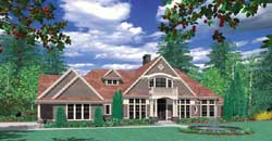 Craftsman Style House Plans 74-396