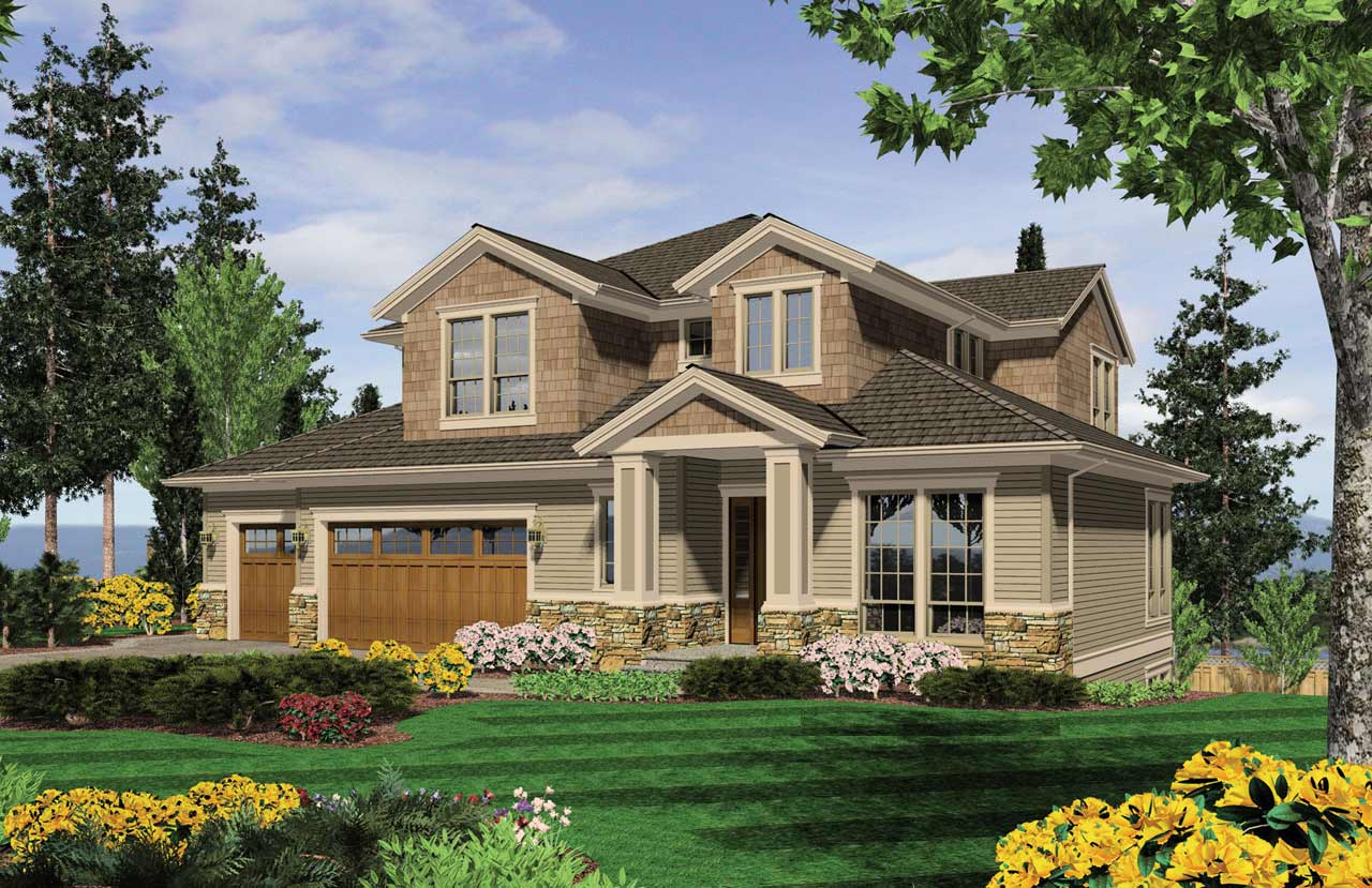 Craftsman Style House Plans Plan: 74-408
