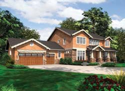 Craftsman Style House Plans Plan: 74-417