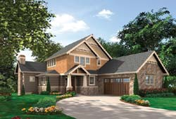 Craftsman Style House Plans Plan: 74-419