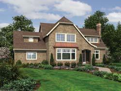 Cottage Style Floor Plans Plan: 74-423