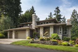 Contemporary Style Home Design Plan: 74-425