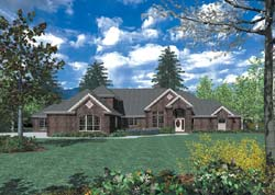 Traditional Style Floor Plans Plan: 74-438