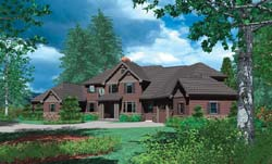 Traditional Style House Plans Plan: 74-439