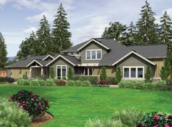 Craftsman Style House Plans Plan: 74-460