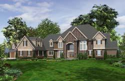 European Style House Plans Plan: 74-469