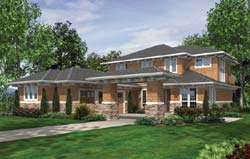 Contemporary Style Floor Plans Plan: 74-476