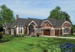 Craftsman Style House Plans Plan: 74-477