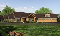 Craftsman Style Floor Plans Plan: 74-479