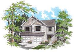 Craftsman Style House Plans Plan: 74-489