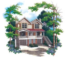 Craftsman Style House Plans Plan: 74-494
