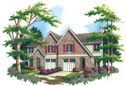 Cottage Style House Plans Plan: 74-496