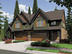 Cottage Style Floor Plans Plan: 74-505