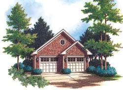 Craftsman Style Floor Plans Plan: 74-509