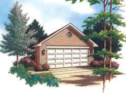 Traditional Style Floor Plans Plan: 74-510