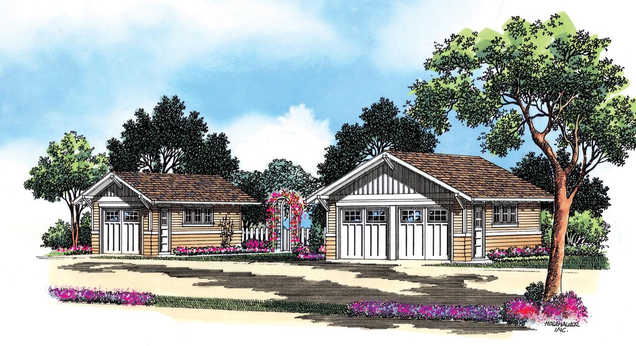Craftsman Style House Plans Plan: 74-513