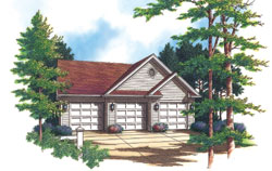 Traditional Style House Plans Plan: 74-515