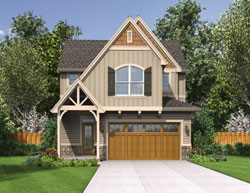 Cottage Style House Plans Plan: 74-544