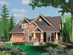 Craftsman Style House Plans Plan: 74-629
