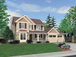 Traditional Style Floor Plans Plan: 74-631
