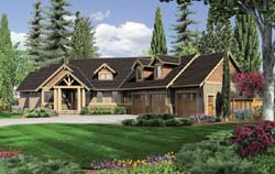 Craftsman Style Floor Plans 74-643
