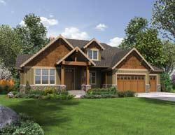 Craftsman Style Floor Plans Plan: 74-646