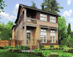 Traditional Style Floor Plans Plan: 74-657