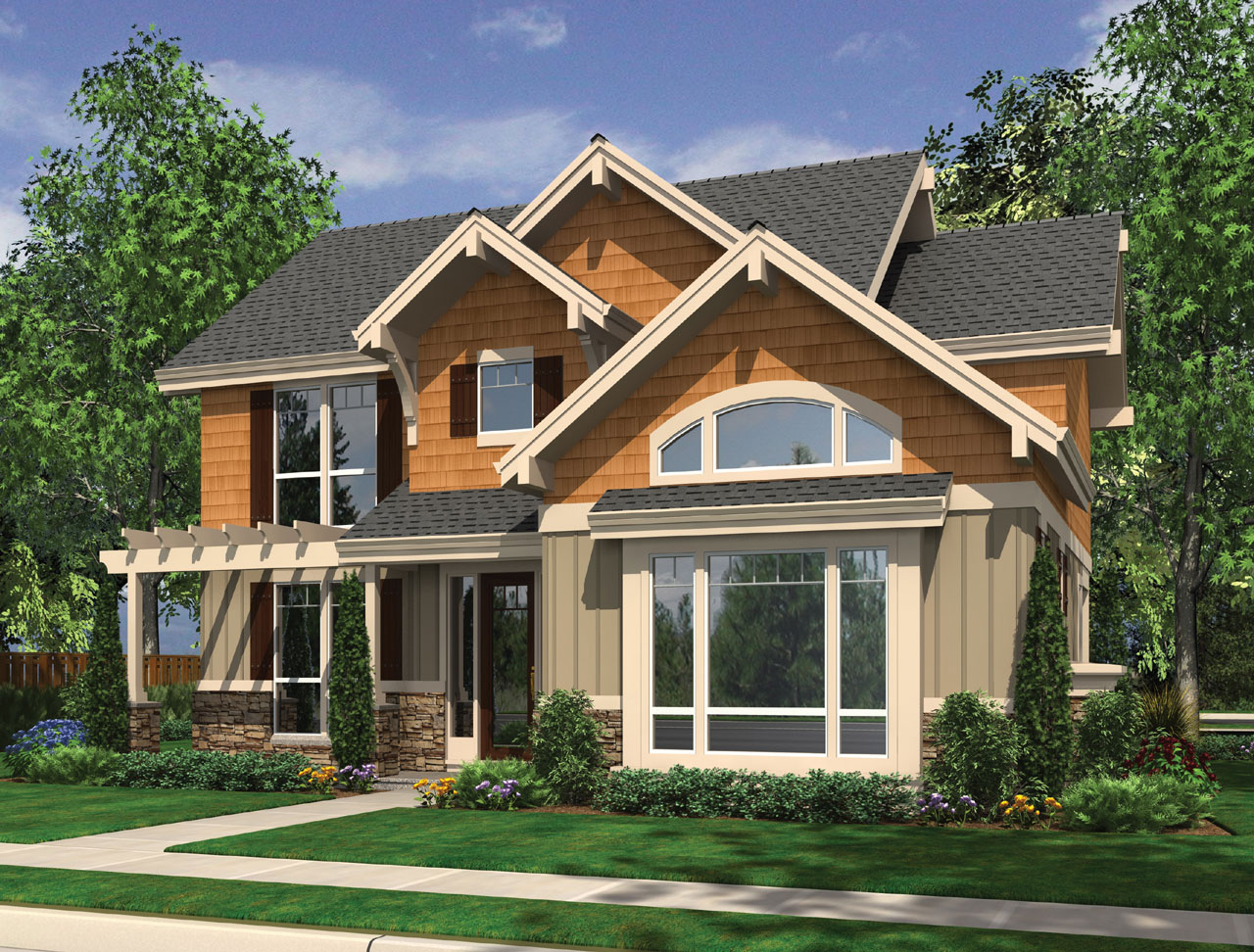Craftsman Style House Plans Plan: 74-661