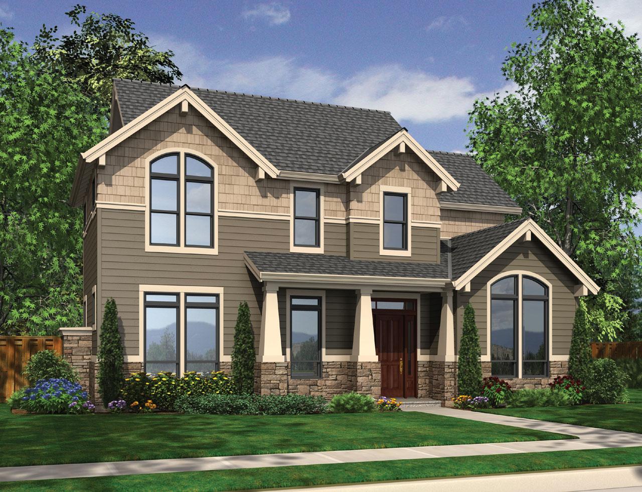 Craftsman Style House Plans Plan: 74-662