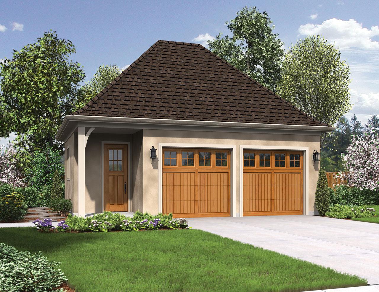 European Style House Plans Plan: 74-679