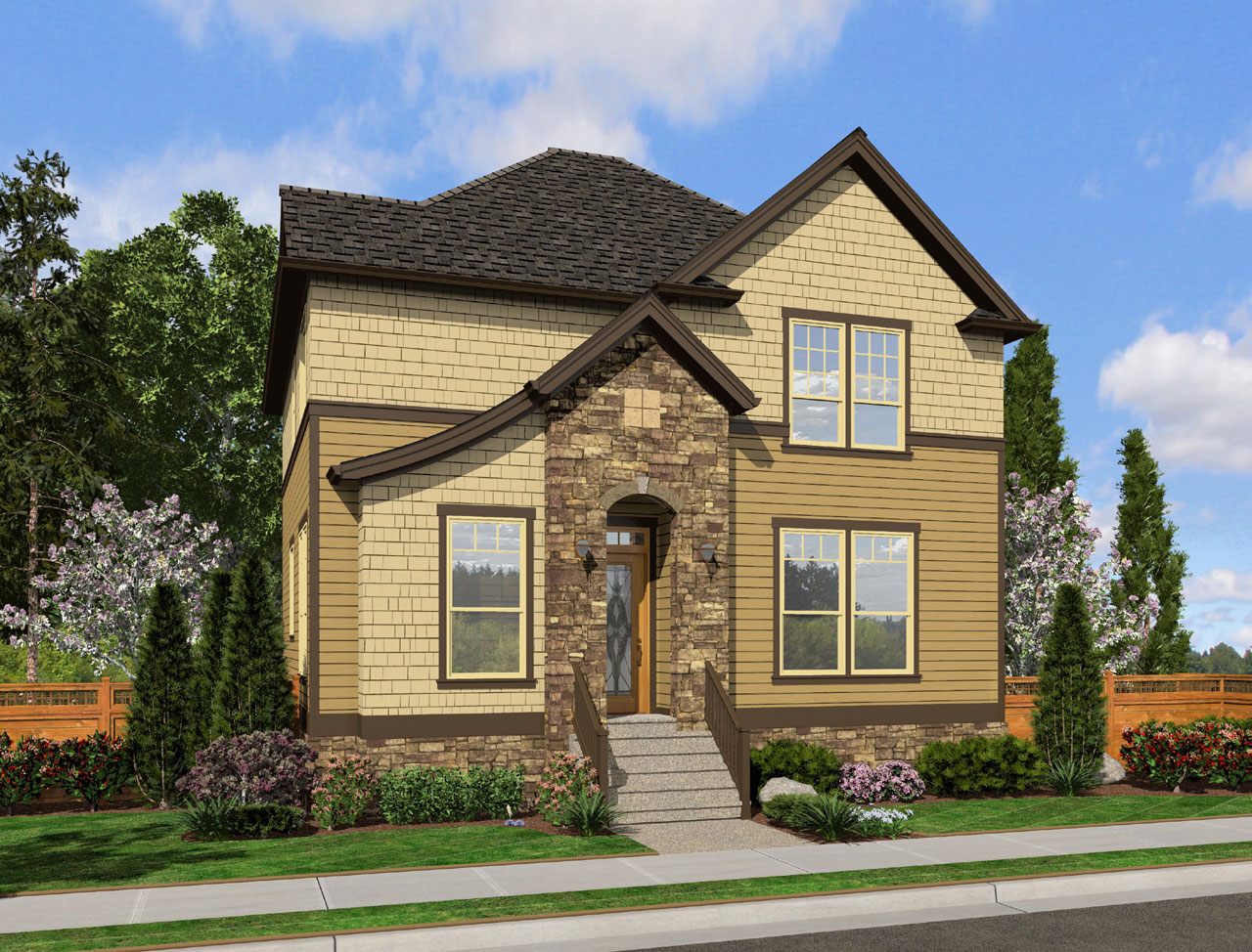 Craftsman Style House Plans Plan: 74-700