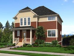 Craftsman Style Home Design Plan: 74-704