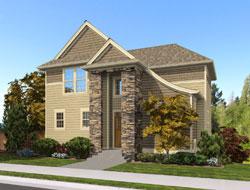 Craftsman Style House Plans Plan: 74-707